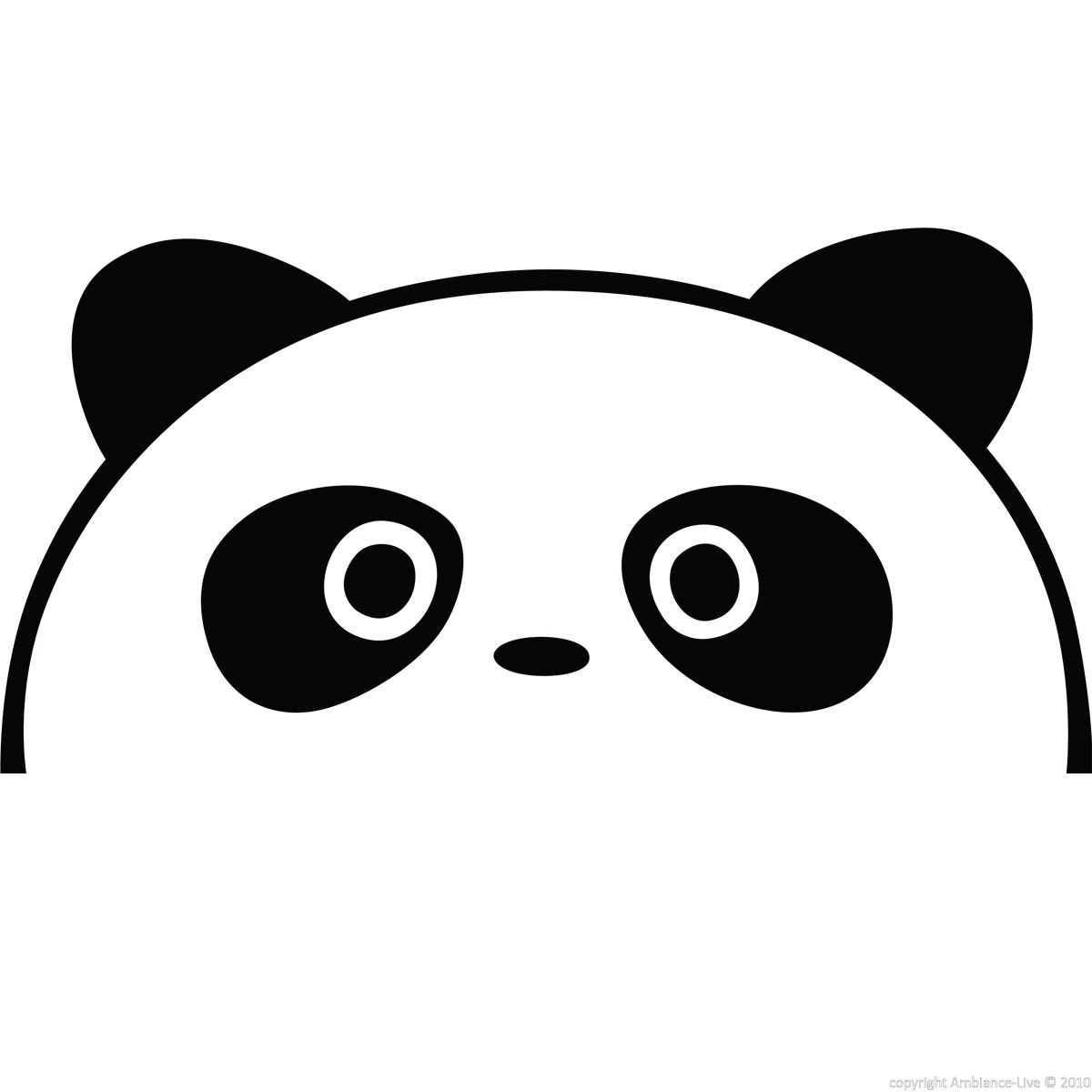 Dessins pandas rigolos recherche google pandas pinterest - Coloriage panda maternelle ...
