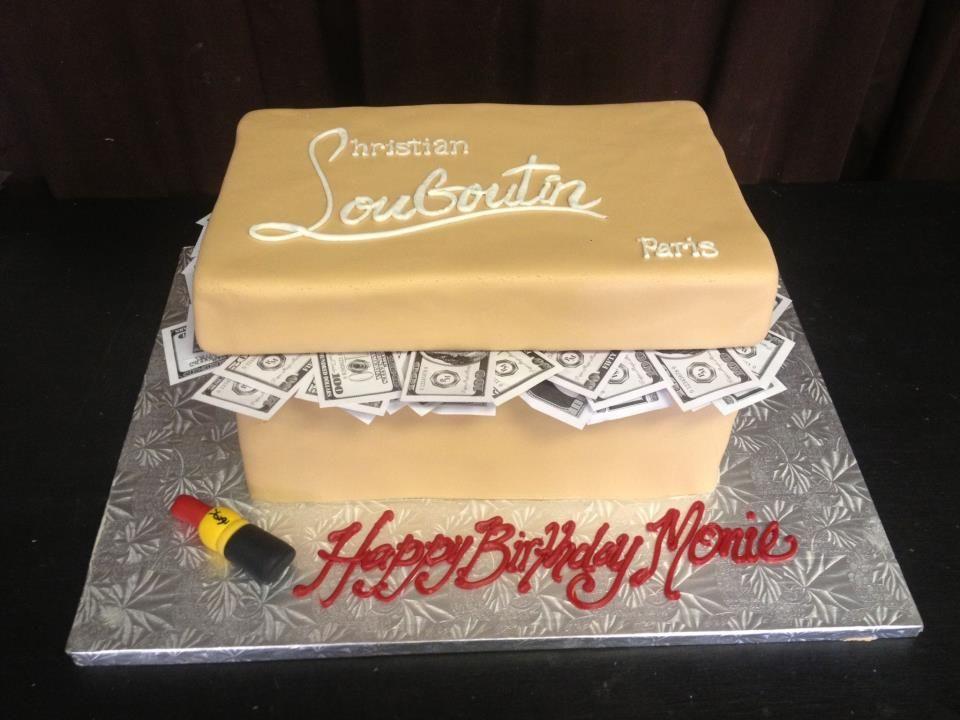 Christian louboutin birthday cake gala bakery san