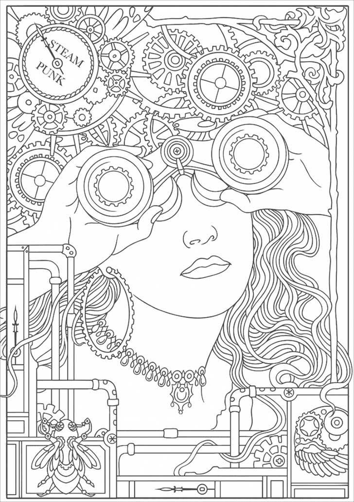 13 alucinantes dibujos para colorear para manejar el estrés ...
