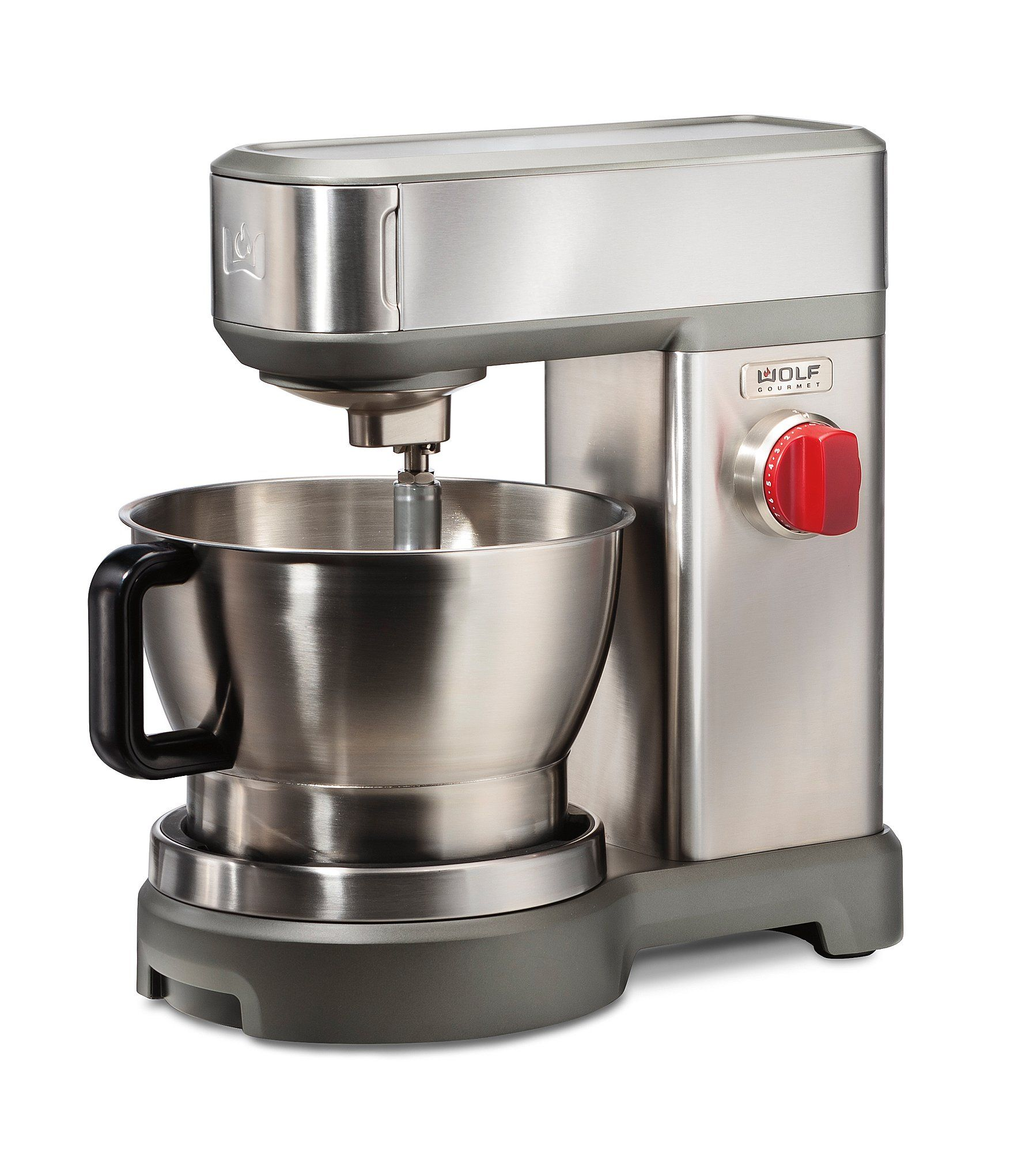 Wolf Gourmet 7 Quart Stand Mixer N A N A Brushed Stainless