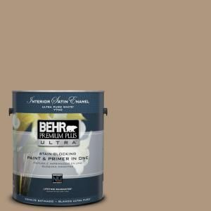 Behr Ultra 1 Gal Home Decorators Collection Hdc Wr14 3 Roasted Hazelnut Extra Durable Satin Enamel Interior Paint Primer 775301 The Home Depot Behr Premium Plus Ultra Exterior Paint Behr Ultra