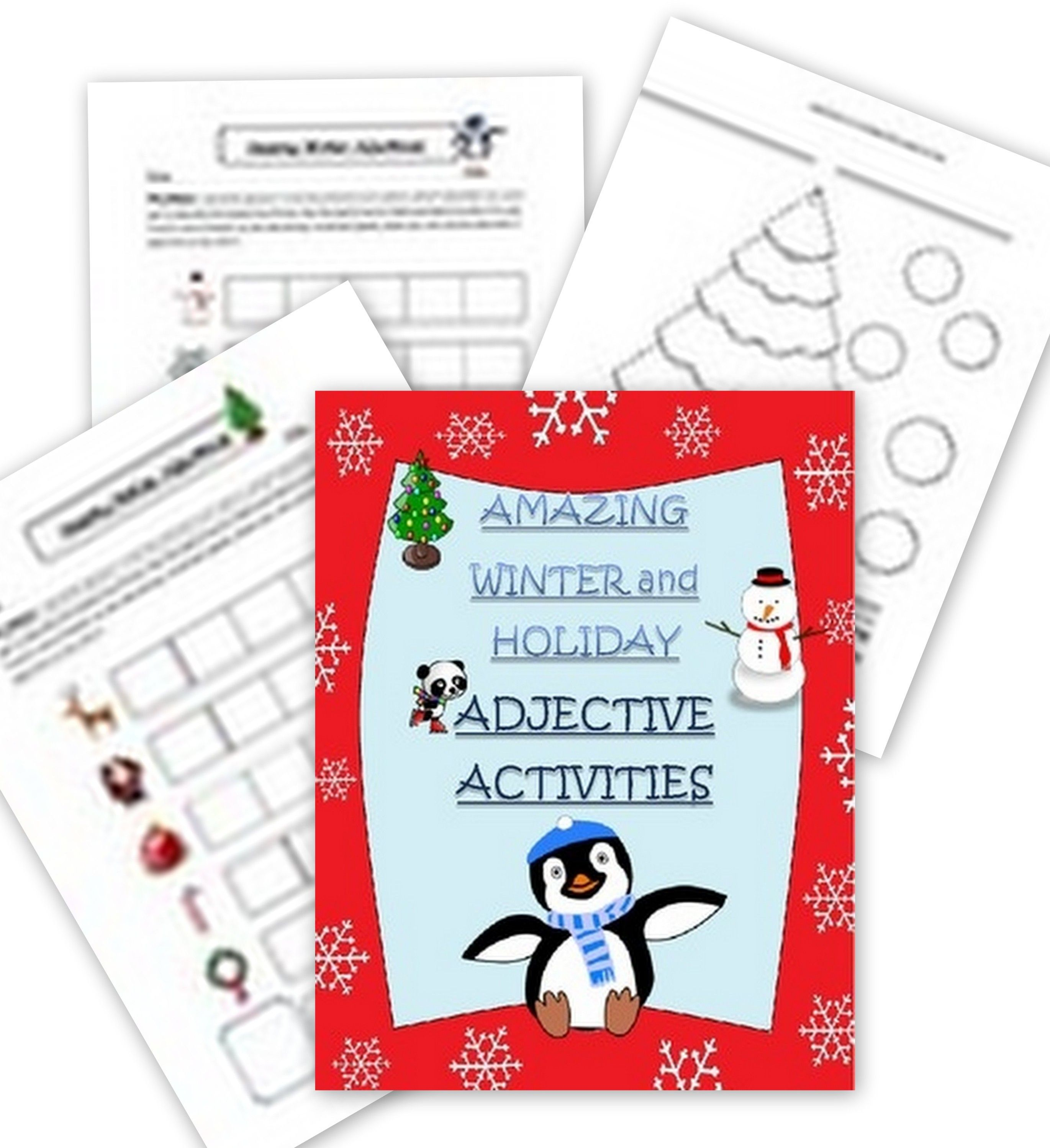 Holiday Adjectives Worksheet
