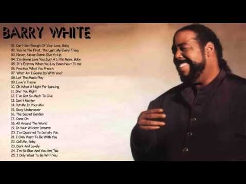 Barry White Greatest Hits - Best Songs Of Barry White - Soul Music