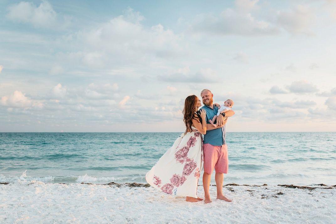 Anna Maria Island Photographer Siesta Key Beach Family Session St Pete