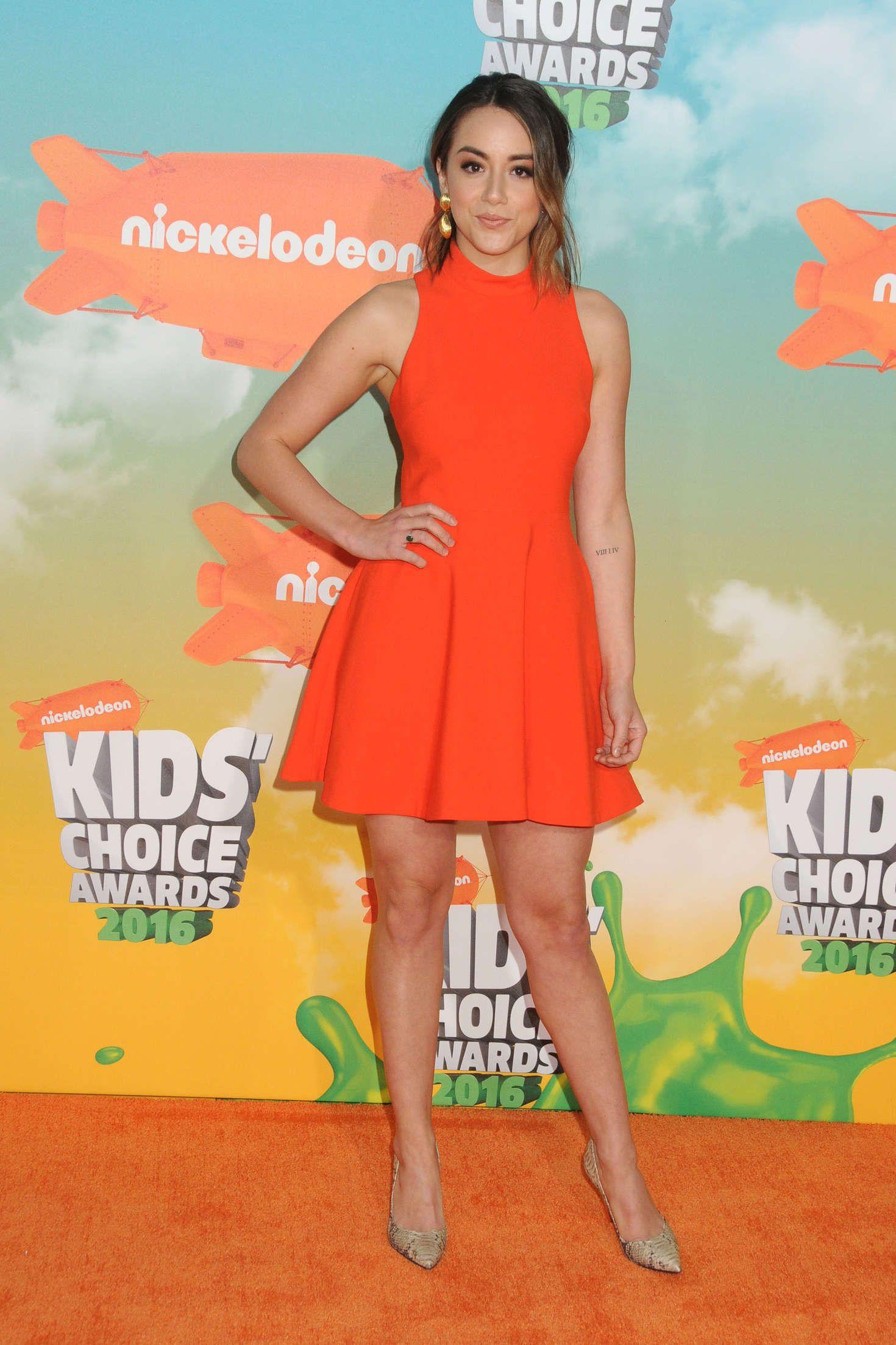 Chloe 2016 nickelodeon kids choice awards 10