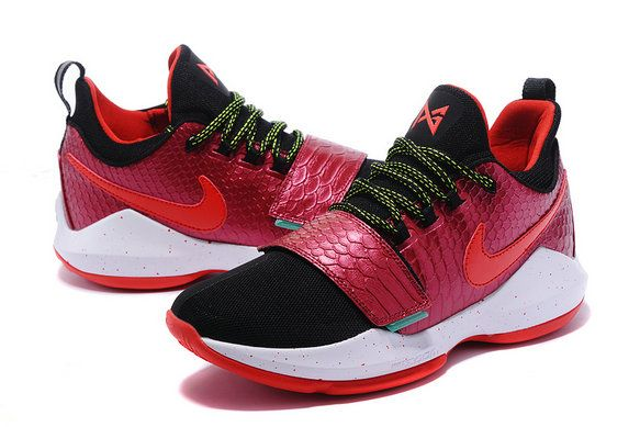 20172018 Newest And Cheapest New PG 1 Paul George Shoes Elite Wine Black  Laser Yellow Black   New Fashion shoes   Pinterest   Yellow black Wine and  Free