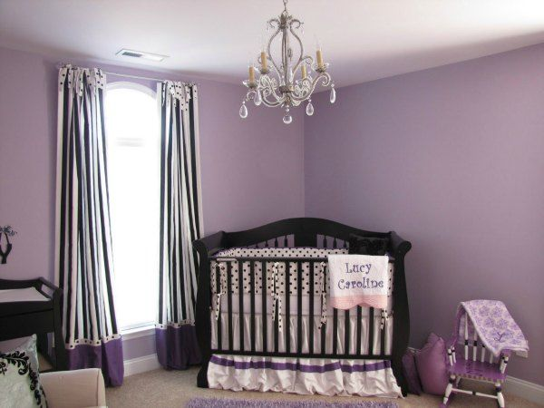 45 Best Purple Room Decor Ideas 2021 Guide Baby Room Colors Purple Baby Rooms Baby Girl Room