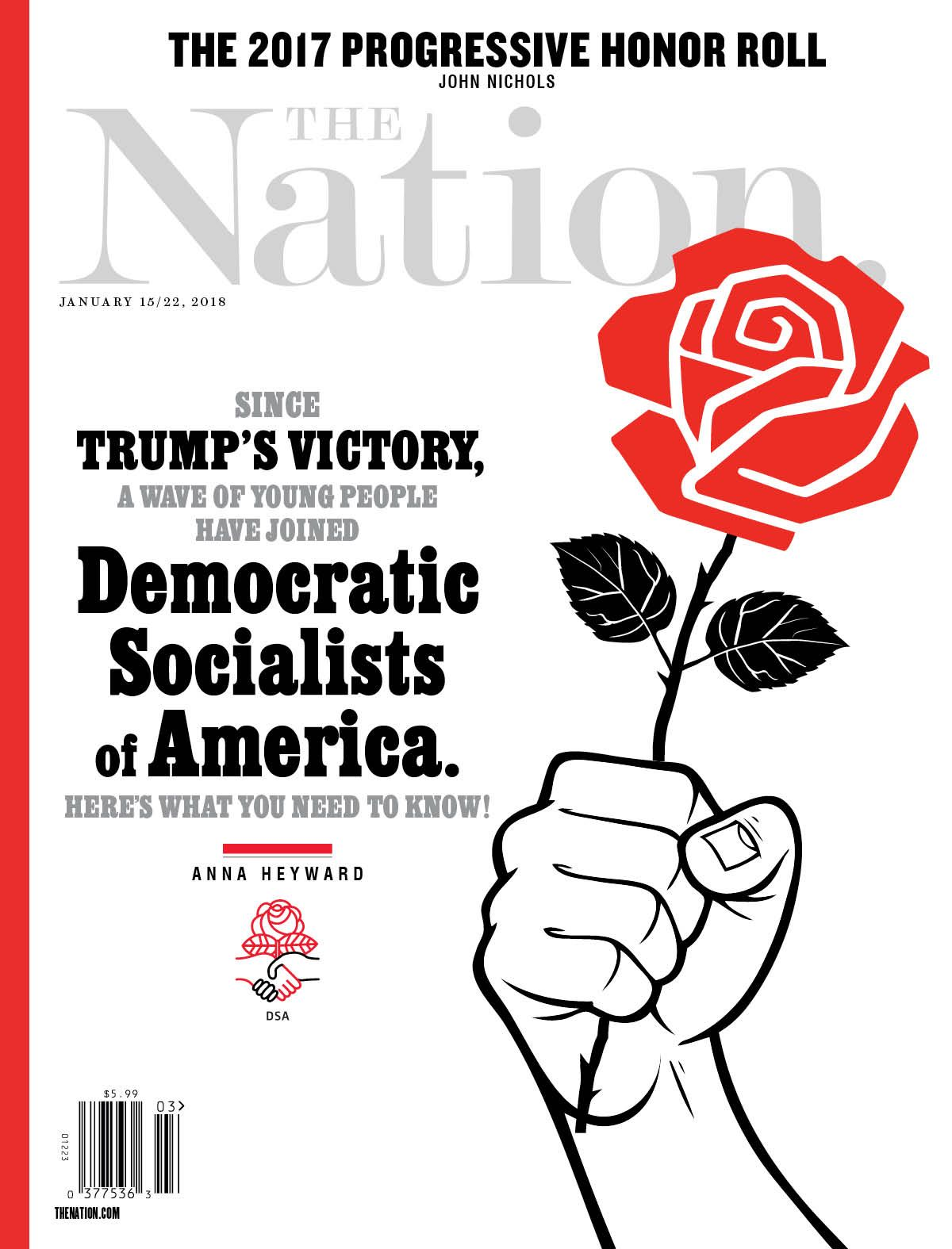 Democratic Socialists Of America The Nation January 1522 2018
