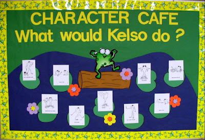 The Corner On Character: Got Conflict? Get Kelso! One schoool's conversion to Kelso! Have ag reat youtube of Robin Williams demonstrating conflict.
