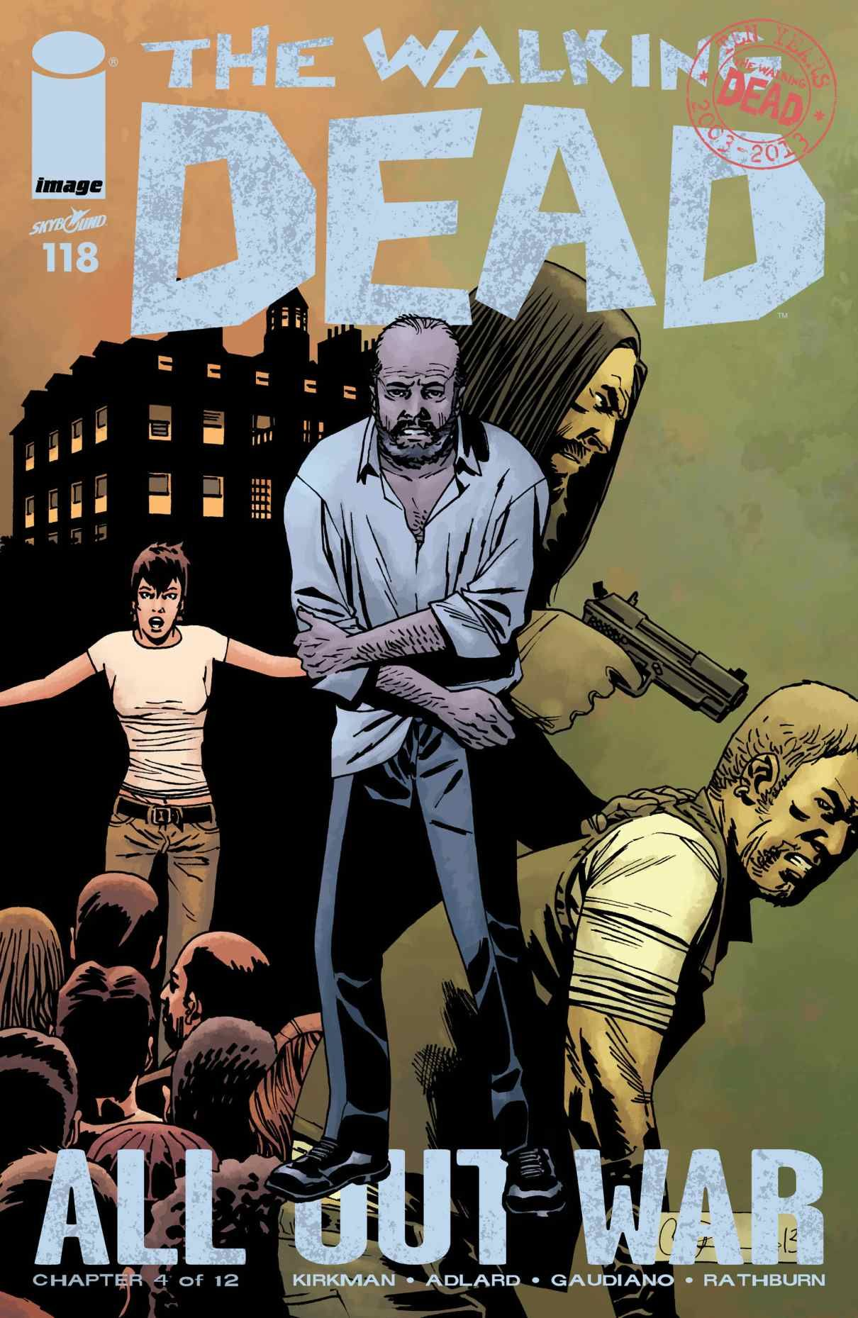 Read Comics Online Free The Walking Dead Chapter 118 Page 1