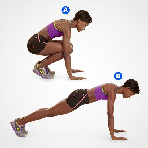 High Knees  http://www.womenshealthmag.com/fitness/tabata-workout-routine?utm_source=facebook.com