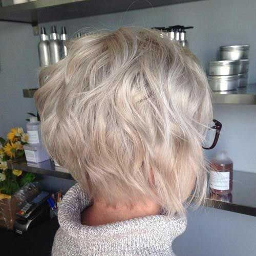 20 Gewellte Kurze Frisuren Haarschnitt Kurz Haarschnitt Haarschnitt Bob