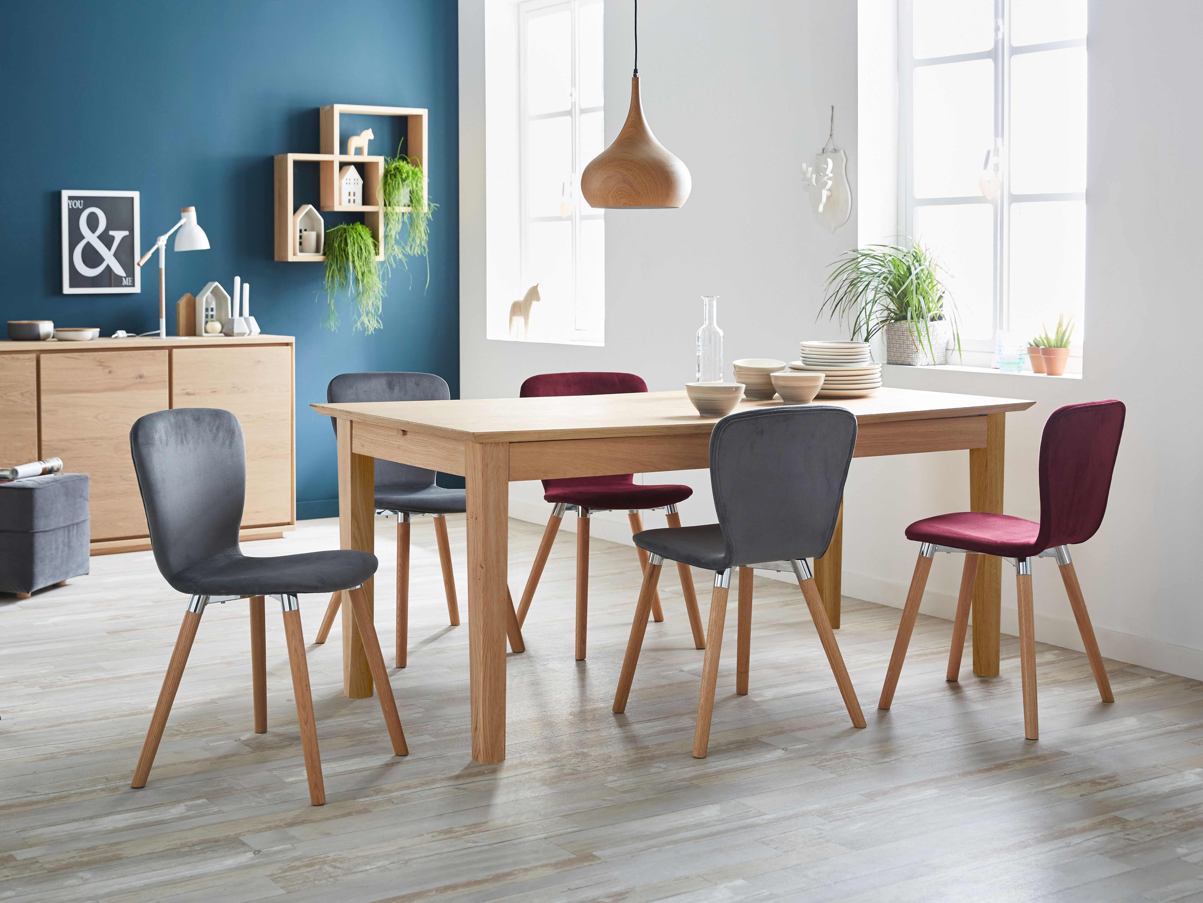 Meuble Stockholm Alinea Alinea Stockholm Table En Chêne Allonges Papillons L 180cm à