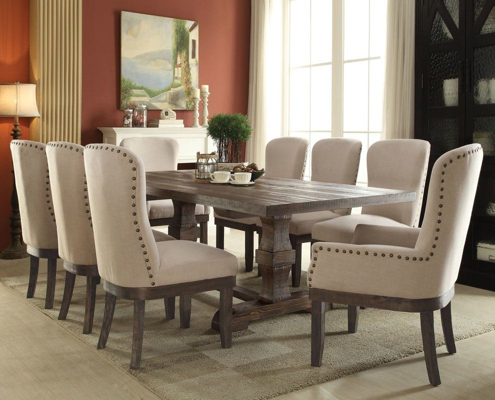 50 9 Piece Dining Room Table Sets  Elite Modern Furniture Check Endearing 9 Pc Dining Room Sets Decorating Design