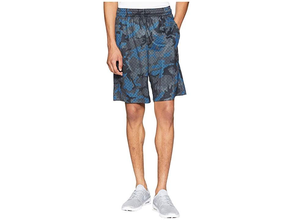 Nike Dry Nothing But Shorts Cool GreySignal BlueBlack Mens Shorts Lead the fastbreak with the Nike Dry Nothing But Shorts Regular fit DriFIT technology wicks perspiration...