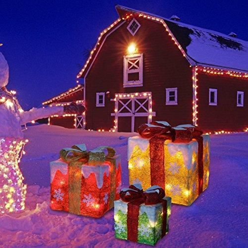 Unique Blue Exterior Christmas Lights