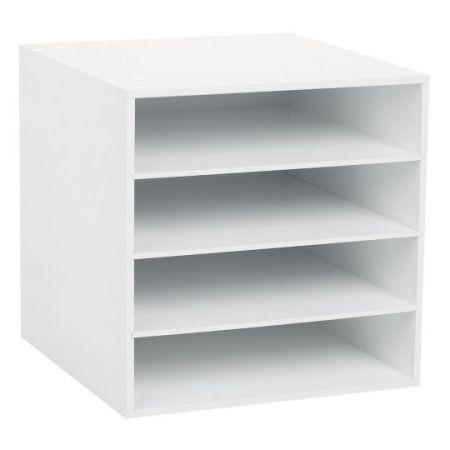 Scrapbooking Horizontal 12 12 Paper Storage Solutions Paper Storage Craft Paper Storage Craft Room Storage