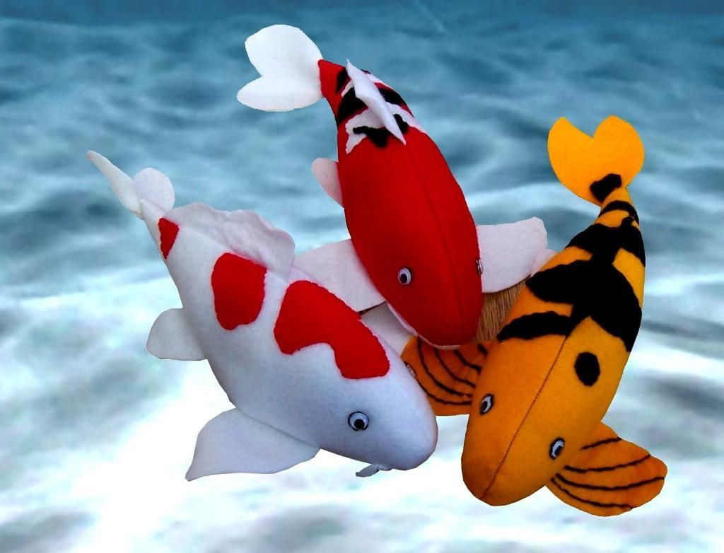 Koi fish soft toy sewing pattern | Pinterest | Koi, Sewing patterns ...