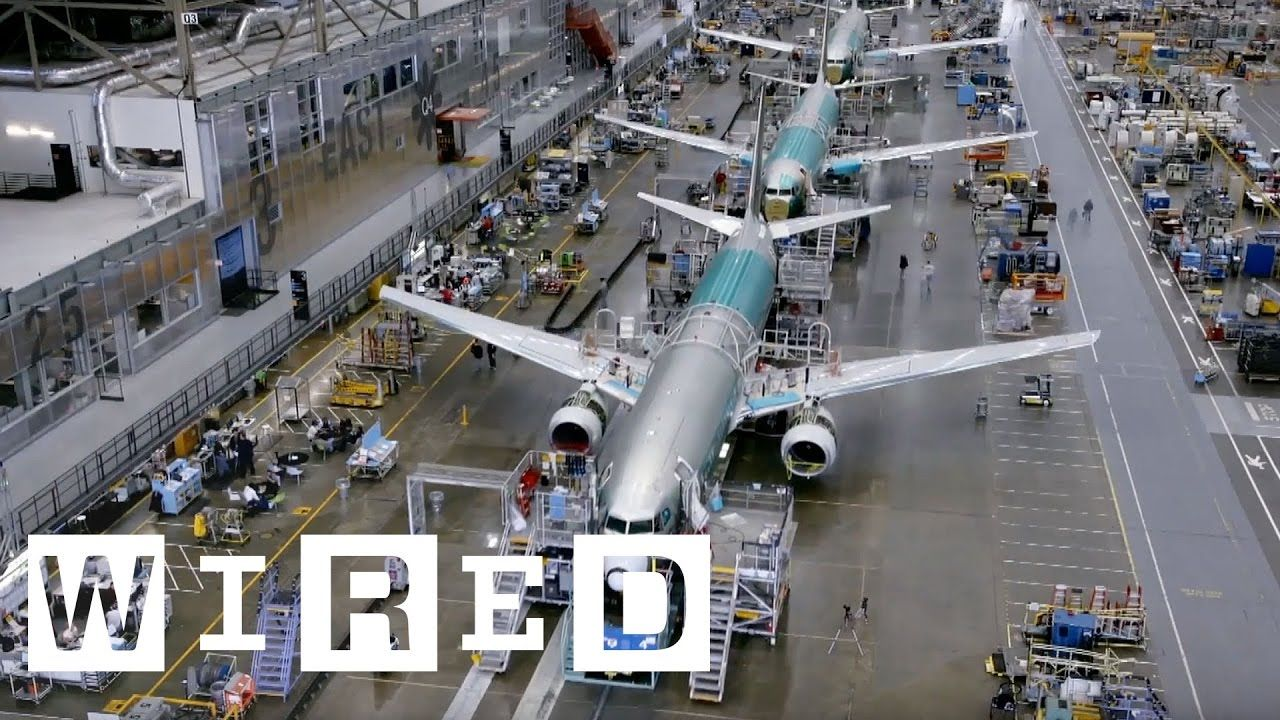 How Boeing Builds a 737 Plane in Just 9 Days | WIRED - YouTube ...