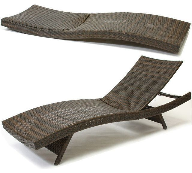Contemporary Outdoor Chaise Lounge Chair With Best Design Lounge
