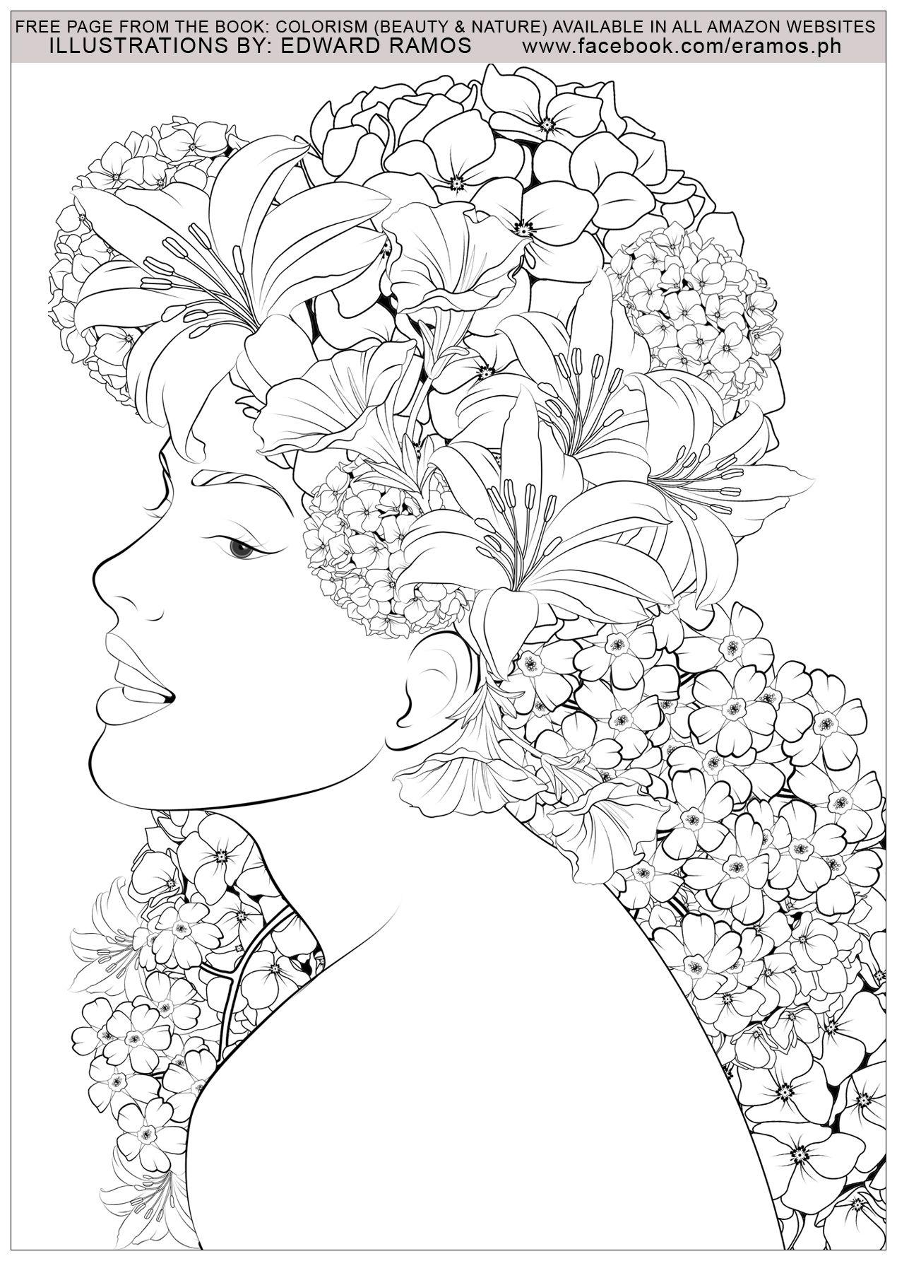 Иллюстрация из книги Колоризм - Красота и природа Эдварда ...
