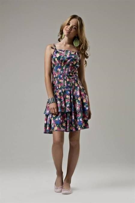 98e1653960d Nice summer dresses for teenage girls 2017-2018