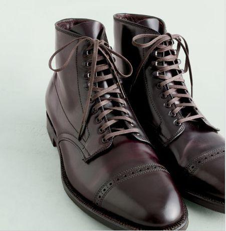 96452e3340c5 Alden Captoe Shell Cordovan Boot