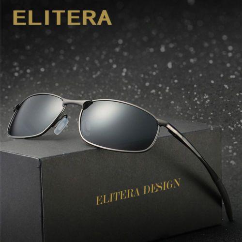 03eb044a77 Men s Design Luxury Small Oval Polarized 100% UV 400 Sunglasses UVA ...