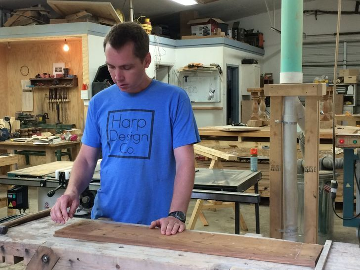 From Flat Broke To Hgtv S Fixer Upper For Furniture Maker Clint
