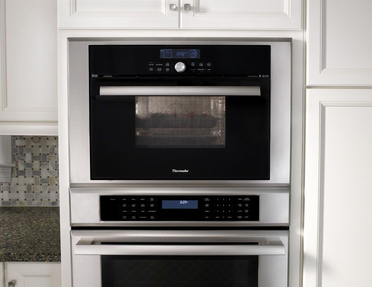 Our Triple Combination Oven Gives You The Convenience Of A True Convection With Cubic Foot Capacity Microwave And Warming Drawer