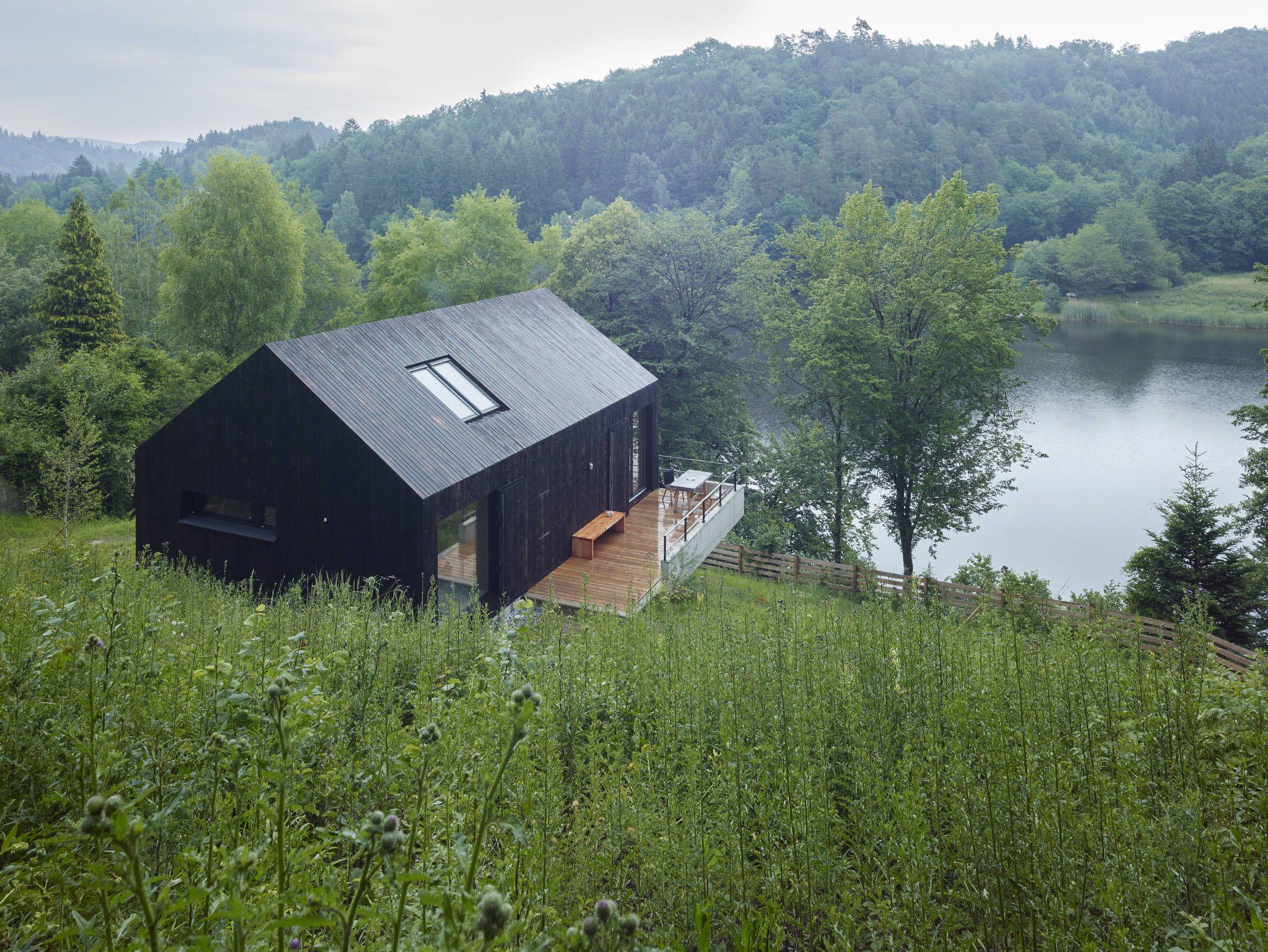 Haus am thurnberger stausee moderne häuser von backraum architektur