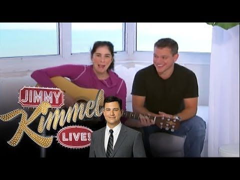 Another Oldie But Goodie At The Time There Was A Long Running Gag Where Every Night On Jimmy Kimmel S Show He Would Introduce Matt Da Matt Damon Comedians Damon