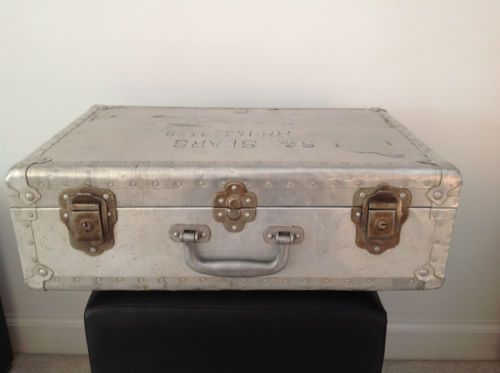 Vintage-Aluminum-Suitcase-Luggage-with-Rivets-Military-Markings19 ...