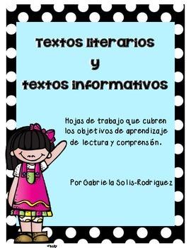 Textos Literarios Y Textos Informativos Nivel Kinder Y Primer Grado Language Teacher Teacher Newsletter Teaching