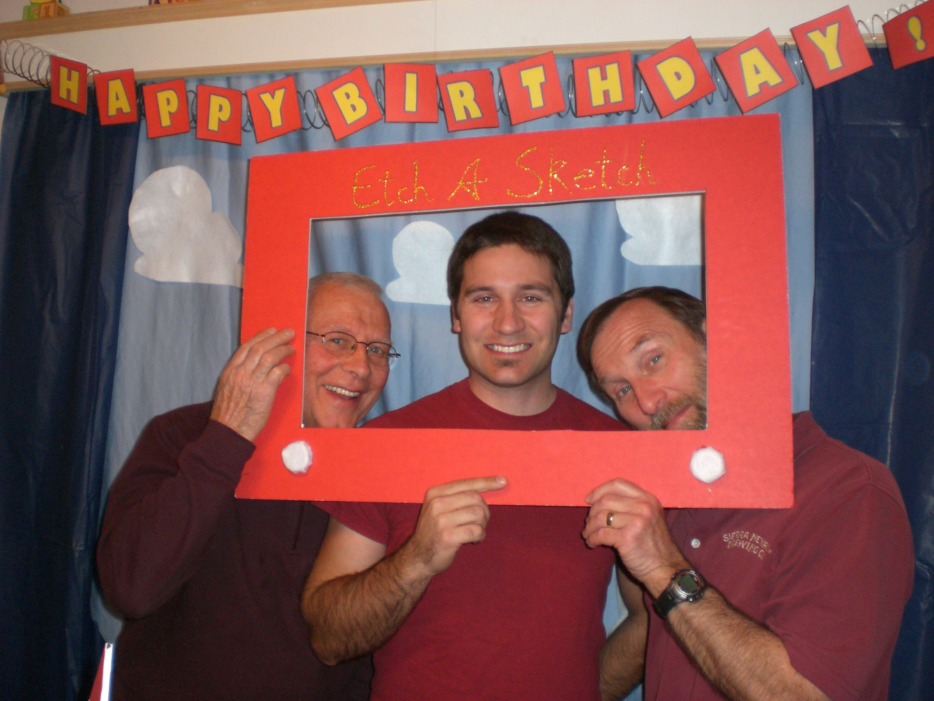 Make an Etch A Sketch picture frame and take pictures of all your ...