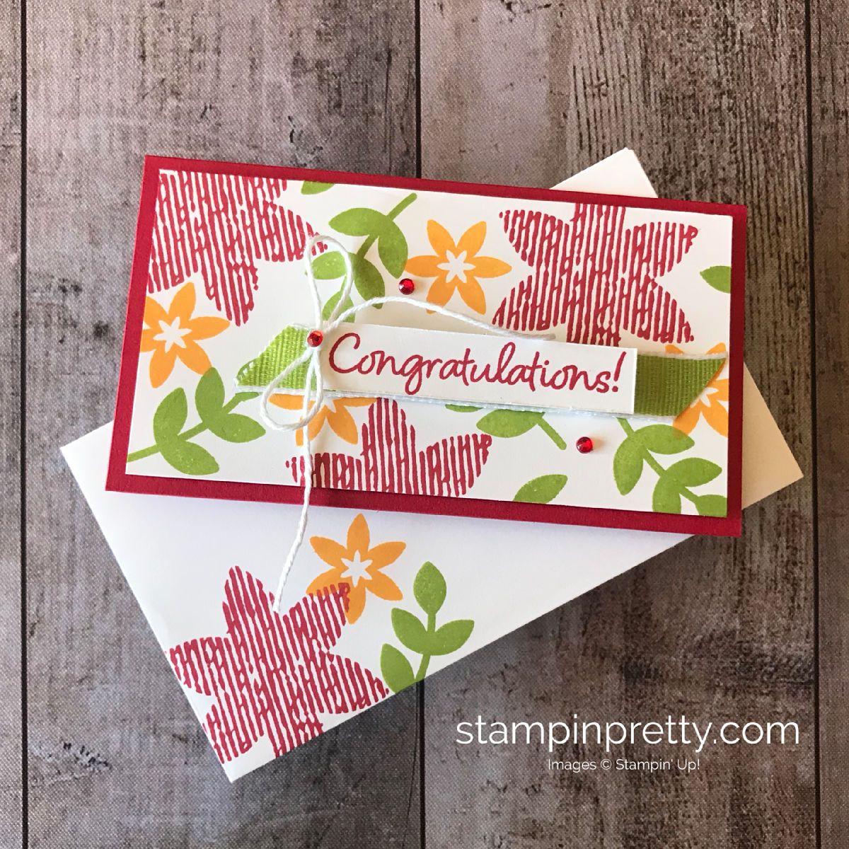 sneak peek happiness surrounds narrow note card  flower