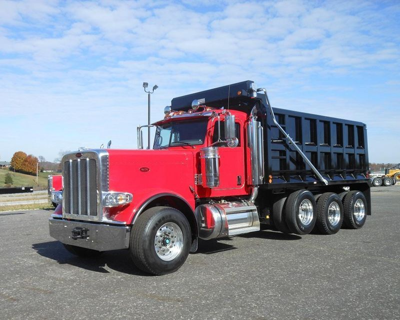 Used Peterbilt Dump Truck For Sale