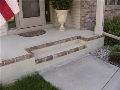 concrete staining a creative and economical when to dress your ... - Economical Patio Ideas