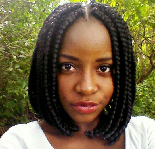 My Hairstyle Back In Da Day Oblong Face Hairstyles Short Box Braids Hair Styles