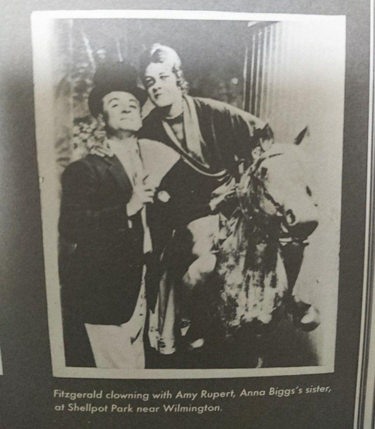 F. Scott Fitzgerald with Amy Rupert (Anna Bigg's sister)