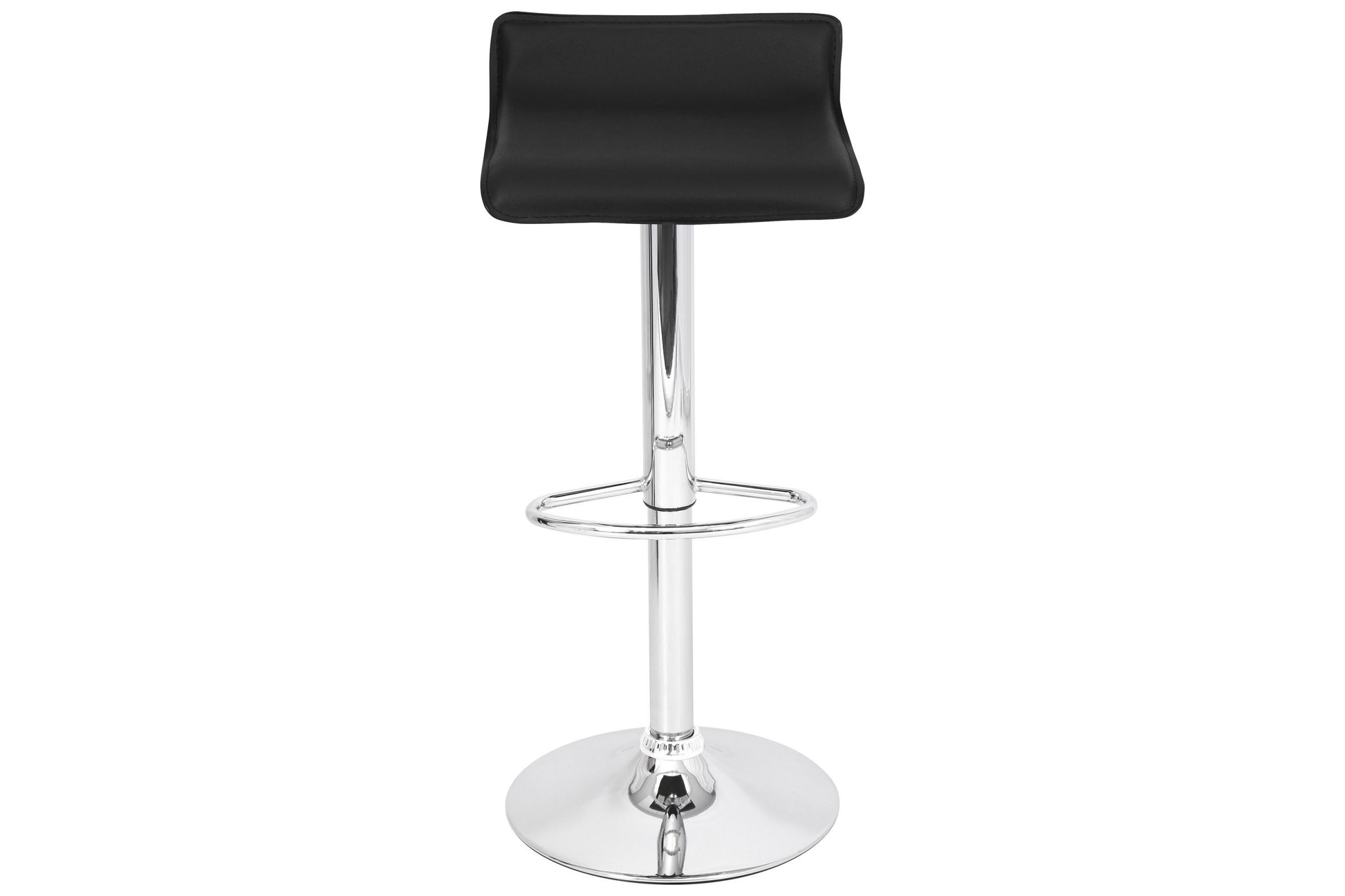 Magnificent Ale Contemporary Adjustable Bar Stools Set Of 2 In Black Alphanode Cool Chair Designs And Ideas Alphanodeonline