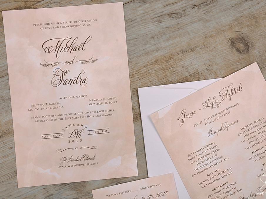weddinginvites created by Written in Ink (WINK): http://kasal.com ...