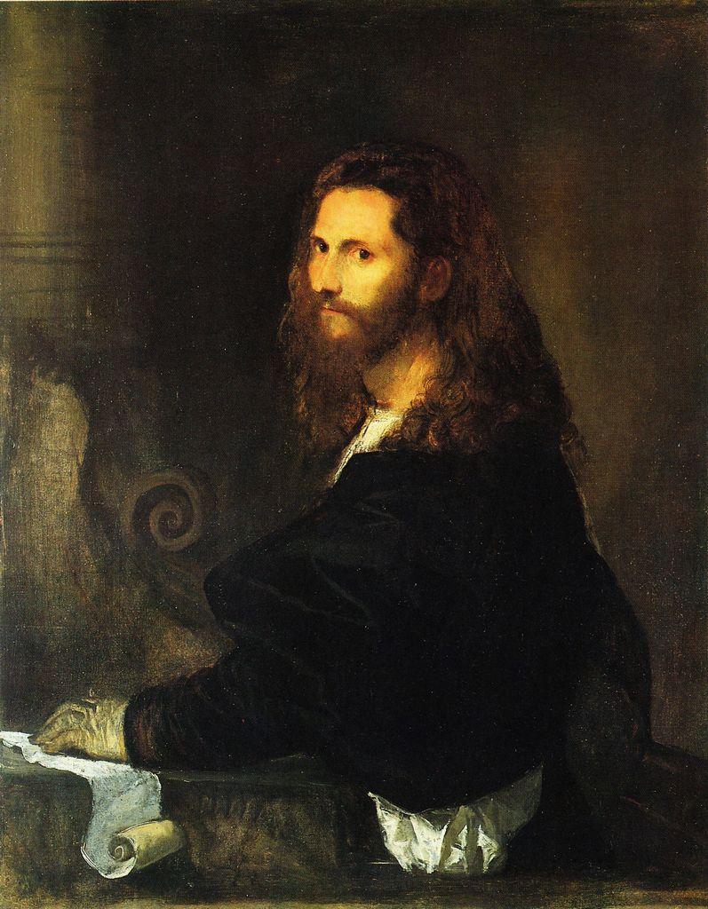 Tiziano Vecellio - Ritratto di musico - 1515-1520