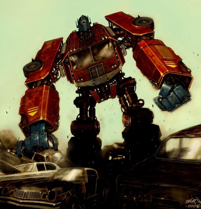 Optimus Prime - Transformers - Chris Bolton