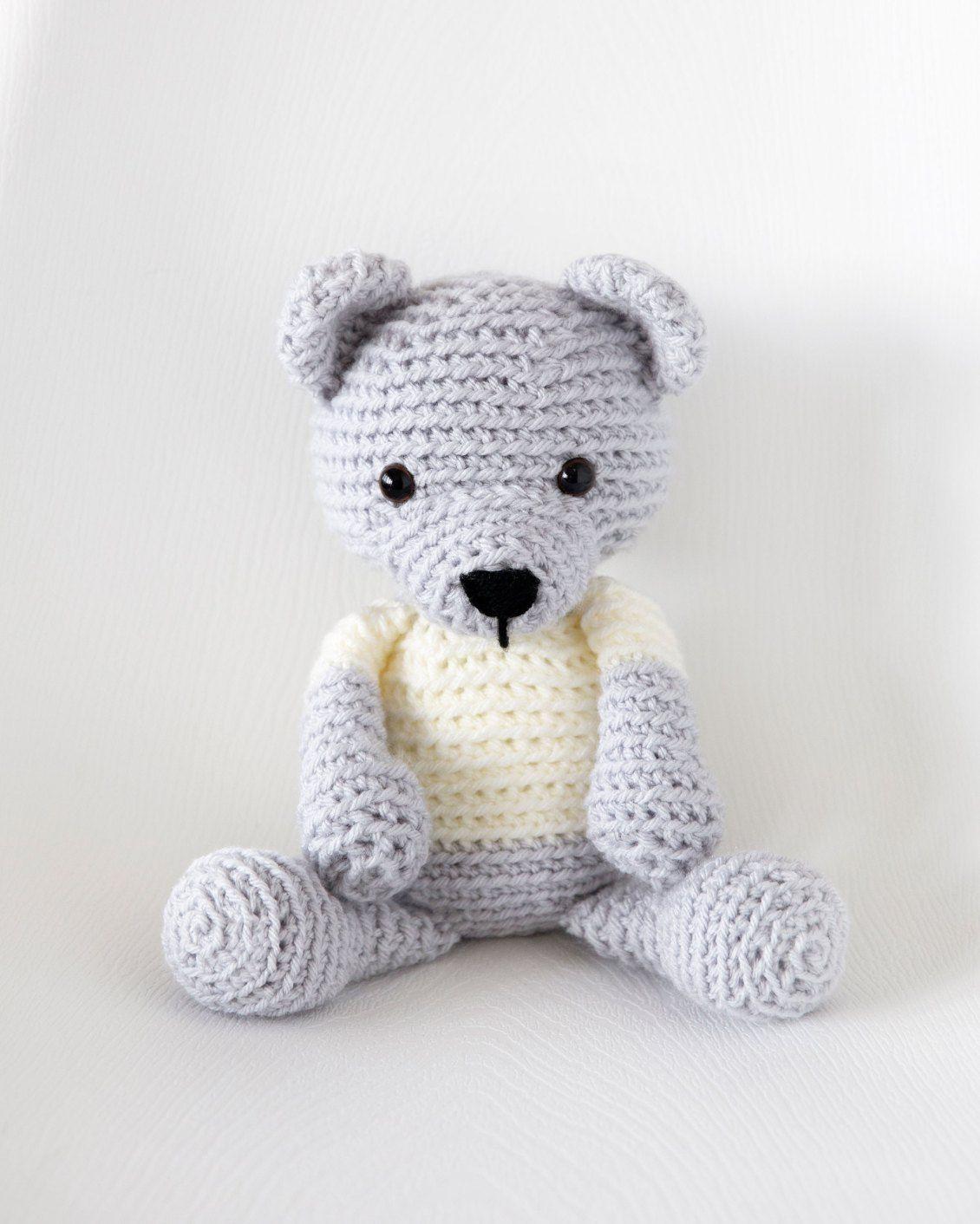 Leelee Knits » Blog Archive Crochet Teddy Bear - Free Pattern ...