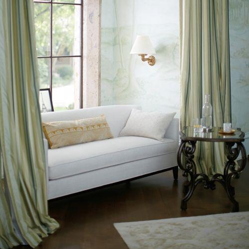 Bernhardt Ellis Sofa Quality Furniture New Metal End Tables