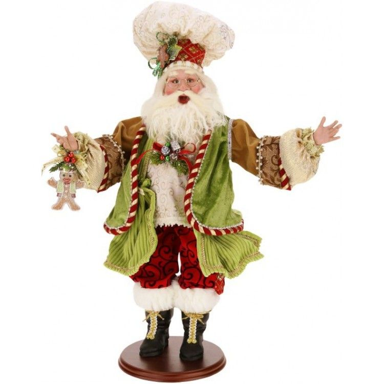 Gingerbread Santa - 24 Inches (LEX) | Mark Roberts Christmas & More