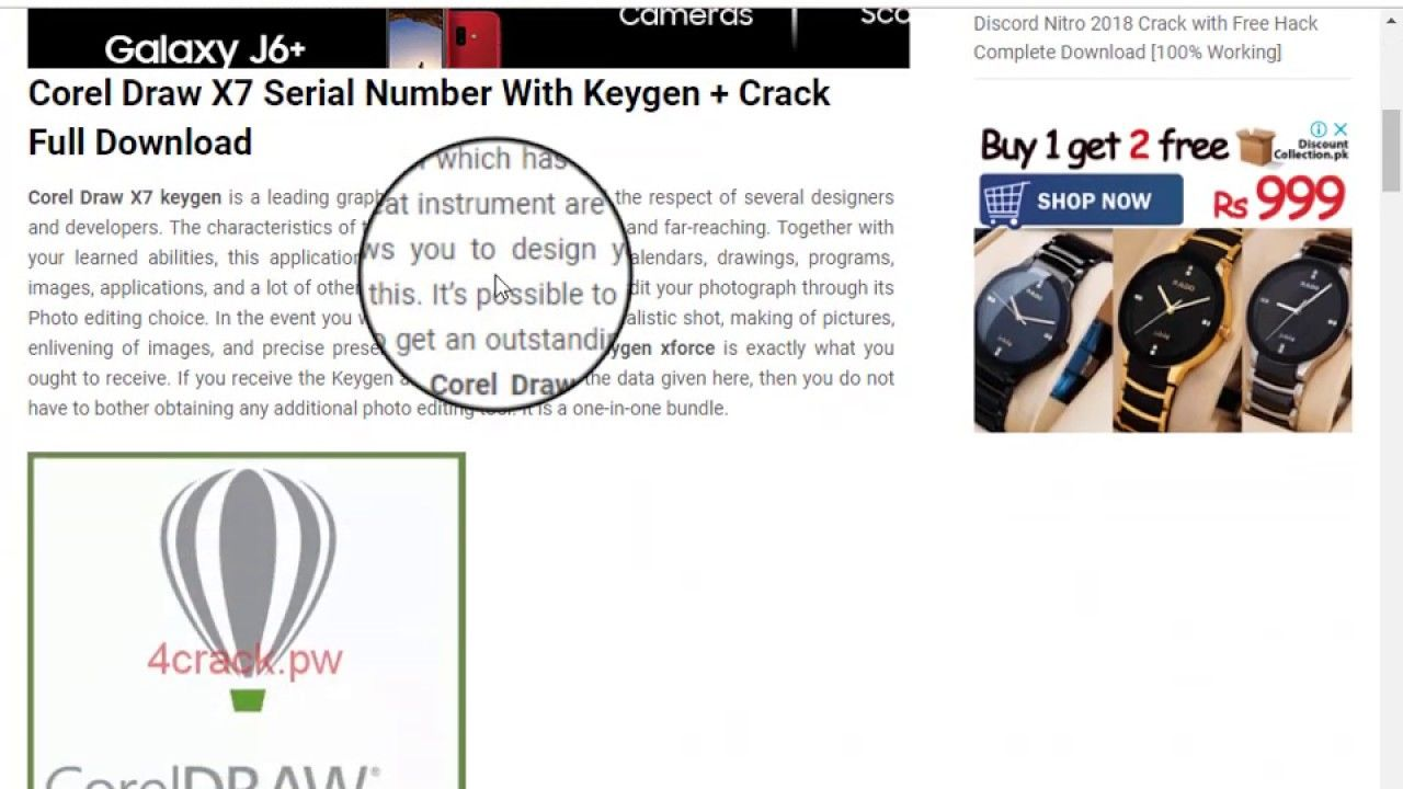 activation code for corel draw x7