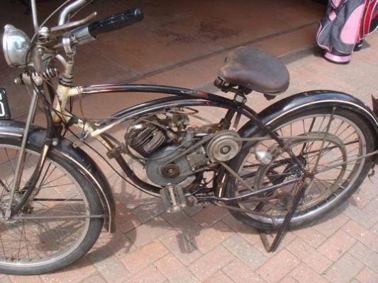 1948 Whizzer Old Antique Vintage Vintage Bikes Motorized Bicycle Motorised Bike