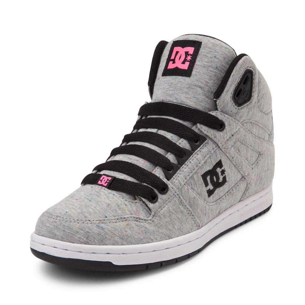 Womens DC Rebound Hi Skate Shoe